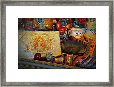 The Old Smoke Shop Framed Print by Dave Mills