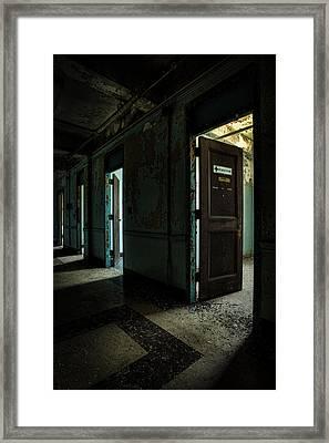 The Open Doors Framed Print by Gary Heller