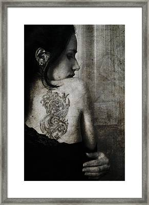 The Other Side Framed Print by Laura Melis