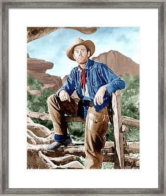 The Ox-bow Incident, Henry Fonda, 1943 Framed Print by Everett