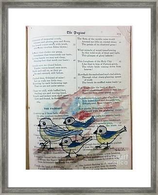 The Pageant Framed Print by Trilby Cole
