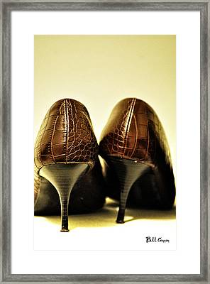 The Pair Framed Print by Bill Cannon