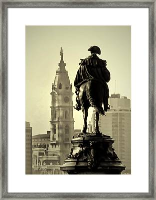 The Parkway End To End Framed Print by Bill Cannon