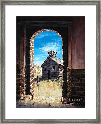The Past Framed Print by Lynette Cook