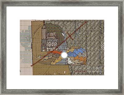 The Pearl An Irritant In The Church Framed Print by Deborah Montana