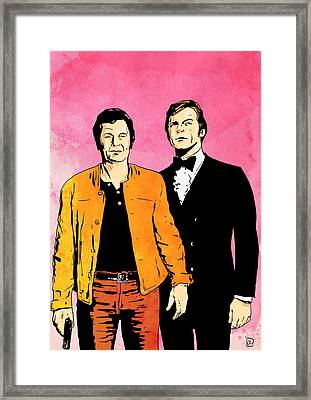 The Persuaders Framed Print by Giuseppe Cristiano
