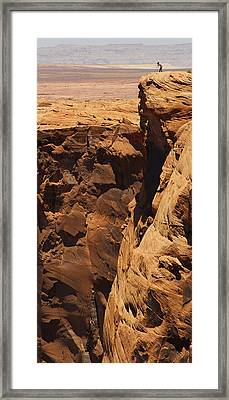 The Photographer Framed Print by Mike McGlothlen