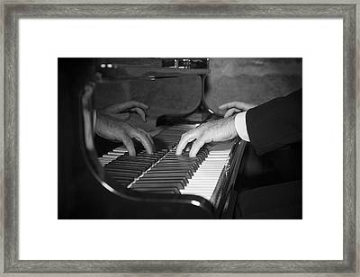 The Pianist Framed Print by Paul Huchton