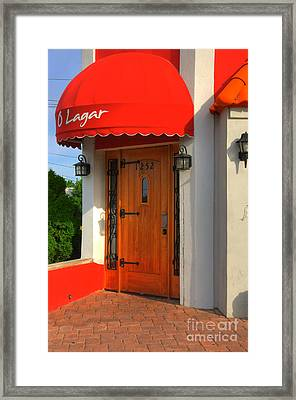 The Place Framed Print by Paul Ward