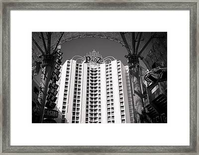 The Plaza Las Vegas  Framed Print by Susan Stone