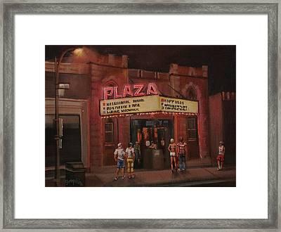 The Plaza Framed Print by Tom Shropshire