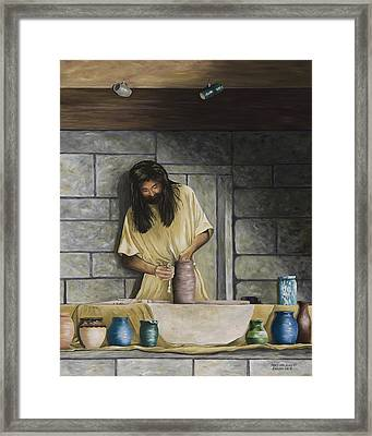 The Potter's House Framed Print by Mary Ann King
