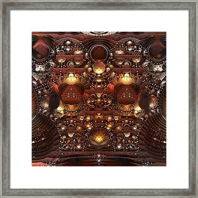 The Power And The Glory Framed Print by Lyle Hatch