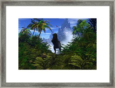 The Predator Framed Print by Claude McCoy