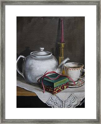 The Present Framed Print by Patricia  Lang