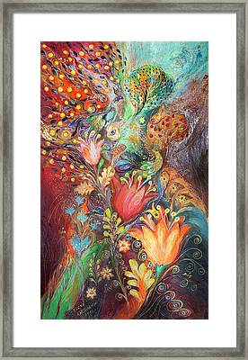 The Princesses Of Garden Framed Print by Elena Kotliarker