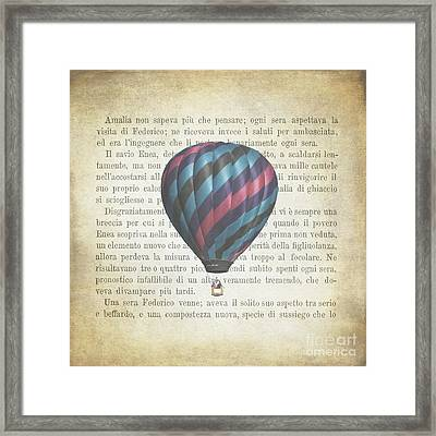 The Printed Page 5 Framed Print by Jan Bickerton