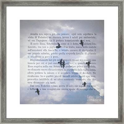 The Printed Page 6 Framed Print by Jan Bickerton