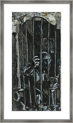 The Prisoner Framed Print by David Finley