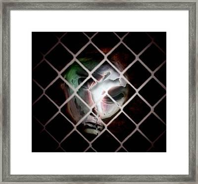 The Prisoner Framed Print by Gun Legler