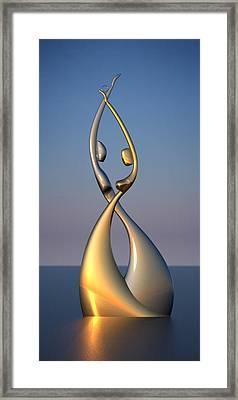 The Promise Framed Print by Raffi Zaroukian