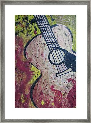 The Psalmist  Framed Print by Christie Lee