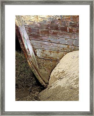 The Pt Reyes Abstract Framed Print by Bill Gallagher