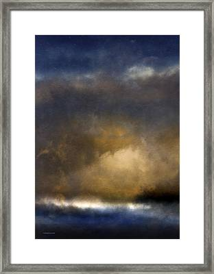 The Reef Framed Print by Ron Jones