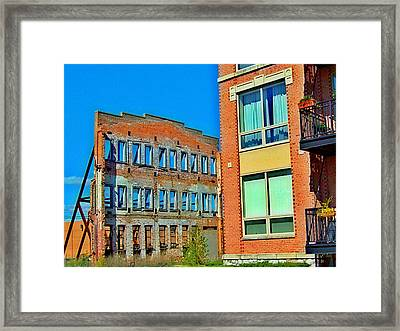 The Replacement Framed Print by MJ Olsen