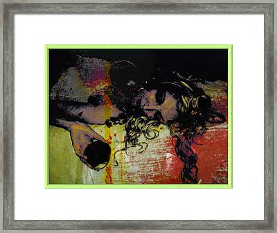 The Replicated Fall Framed Print by Adam Kissel
