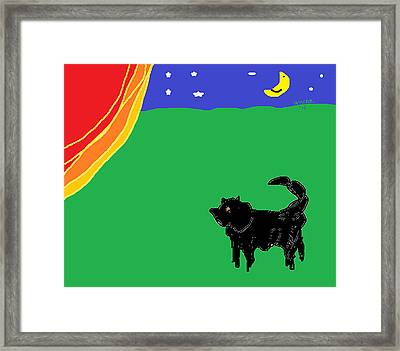 The Return Of Magic Framed Print by Anita Dale Livaditis