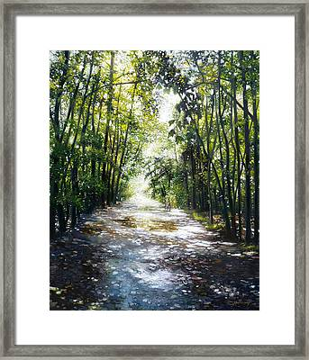 The Ride Framed Print by Gregg Hinlicky