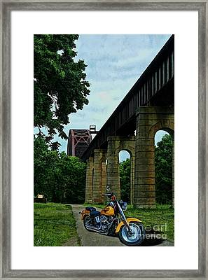 The Ride Framed Print by Tommy Anderson
