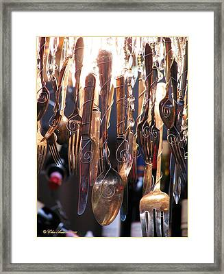 The Right Tools For The Right Job Framed Print by Chris Anderson