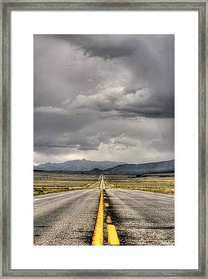The Road Framed Print by Stellina Giannitsi
