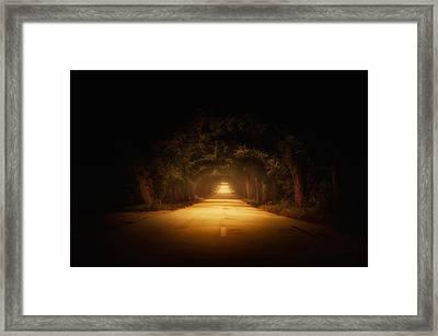 The Road To.... Framed Print by Marek Czaja
