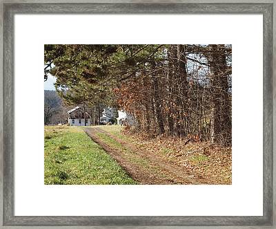 The Road To Redemtion Framed Print by Robert Margetts