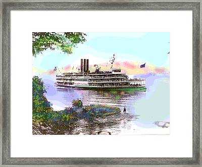 The Robert Fulton Framed Print by Charles Shoup