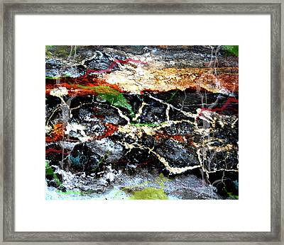 The Rock Framed Print by Jerry Cordeiro