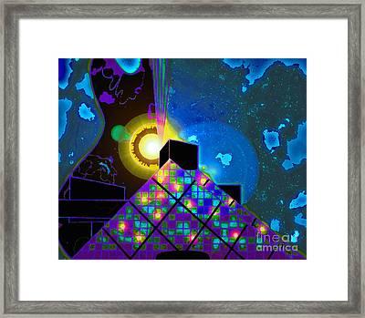 The Rock Framed Print by Jose Vasquez