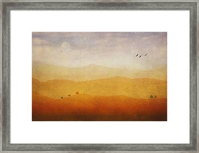 The Rolling Hills Framed Print by Tom York Images