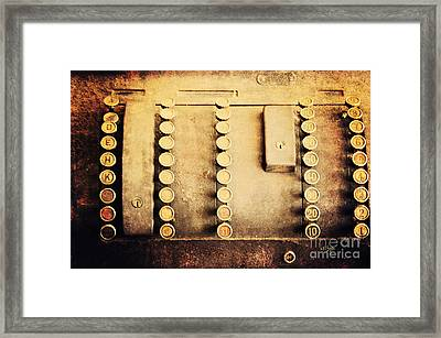 The Root Of All Evil Framed Print by Lois Bryan