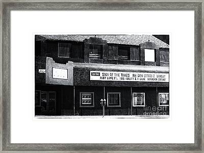 The Roxy Framed Print by John Rizzuto