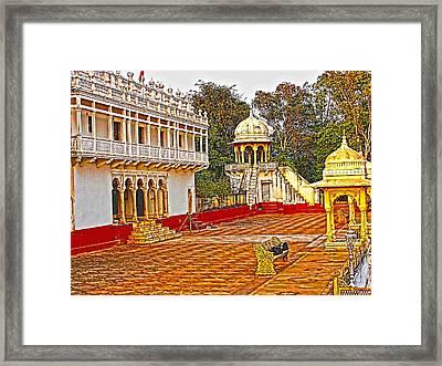 The Royal Corridor Framed Print by Makarand Purohit