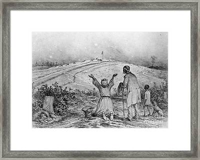 The Sanctuary, 1863 Framed Print by Granger