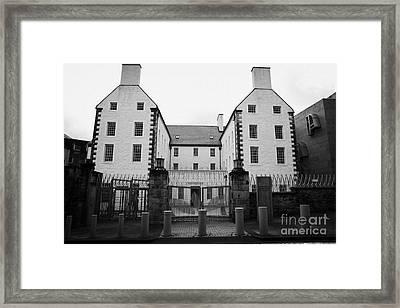 The Scottish Parliament Building Queensberry House Edinburgh Framed Print by Joe Fox