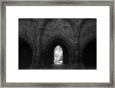The Secret Garden Framed Print by Matt Nuttall