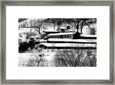 The Self-designed Home Of Architect Framed Print by Everett