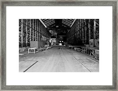 The Shed Framed Print by John Buxton