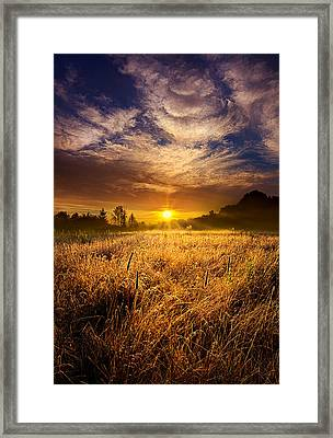 The Shining Framed Print by Phil Koch